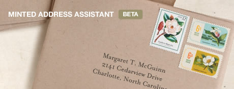 Meet the Minted Address Assistant
