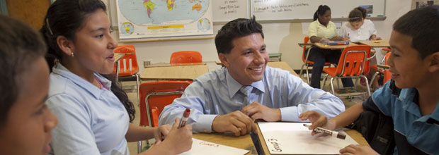 Teach For America children