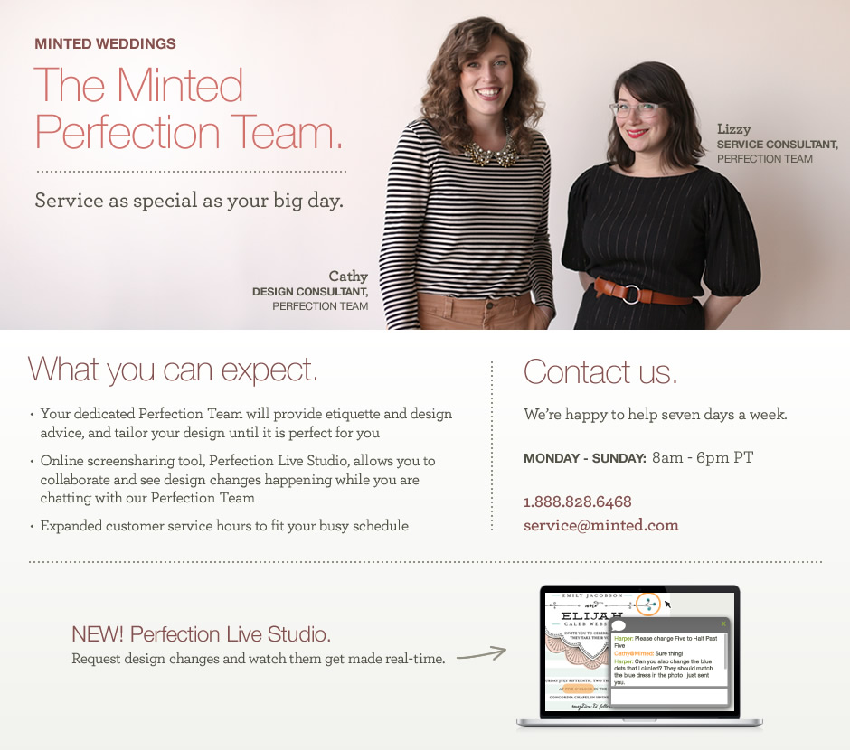 The Minted Perfection Team