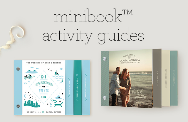 Minibook Activity Guides