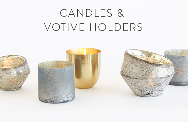 Candles & Votive Holders