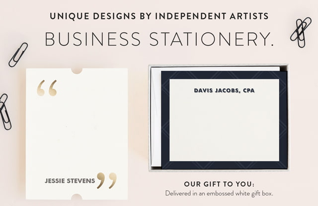 Busines Stationery