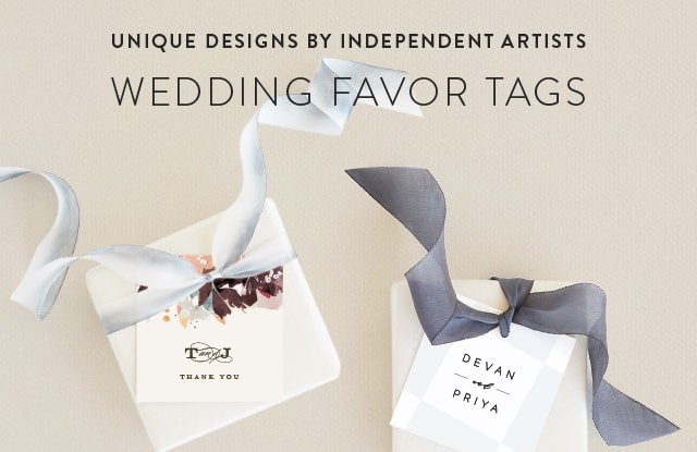 Wedding Favor Tags