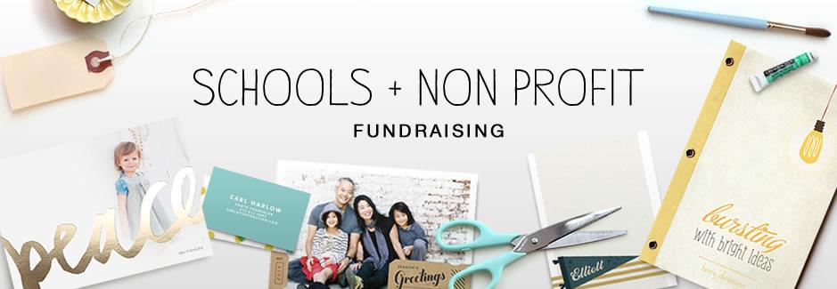 Schools + Non-Profit Fundraising
