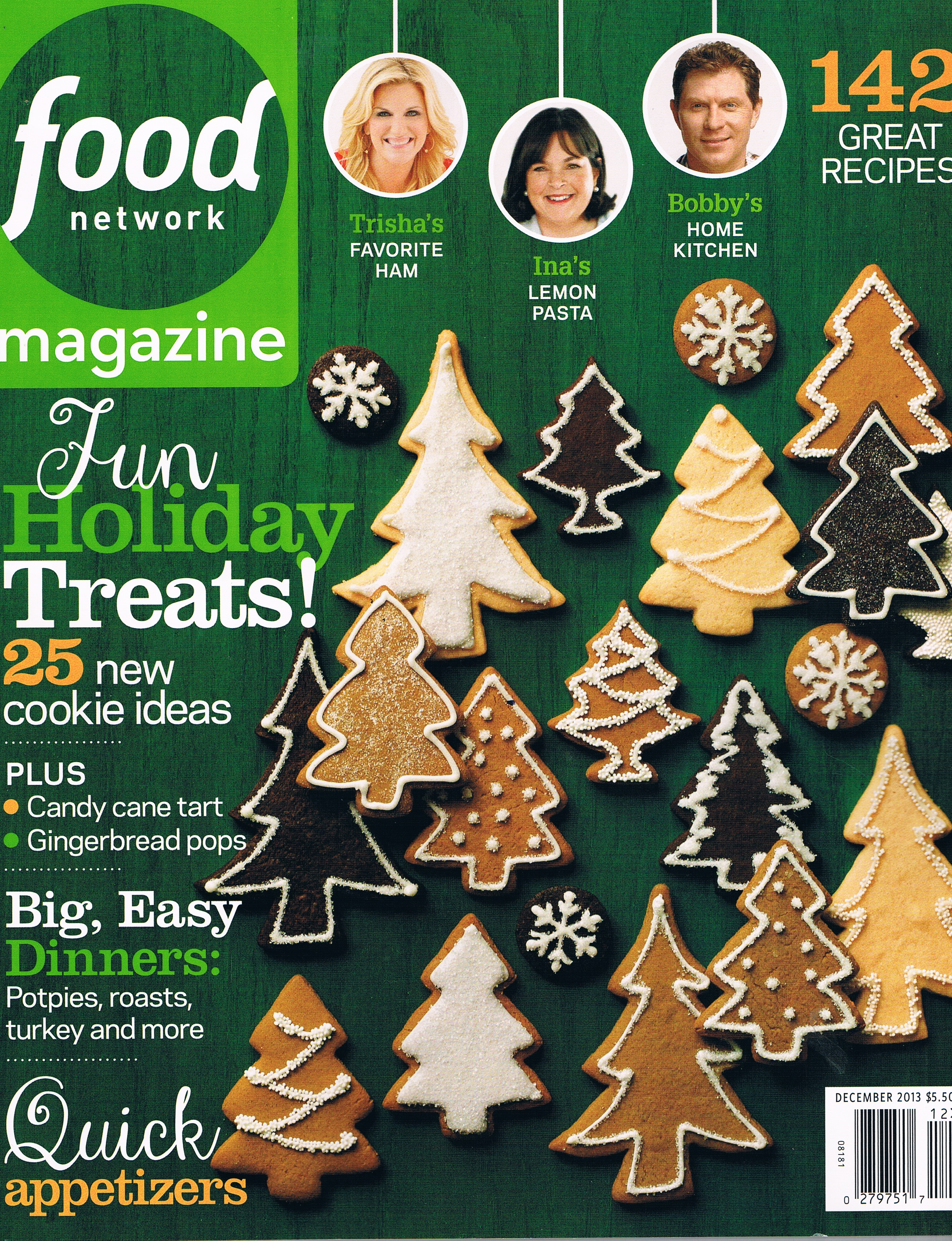 Food Network Magazine- December 2013