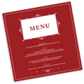 holiday menu cards