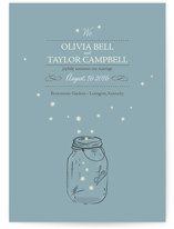 fireflies Wedding Announcements