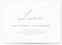 Simply in Love Wedding Announcements