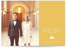 Sweet and Simple Wedding Announcements