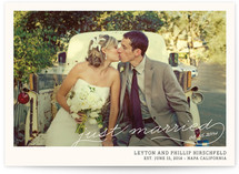 Vintage Photograph Wedding Announcements