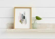 The Artful Shelf™ - Whitewashed French Farmhouse Art Shelves