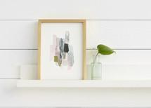 The Artful Shelf™ - Premium Wood