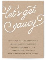 Let's Get Saucy
