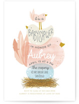 Ready to Hatch Baby Shower Postcards