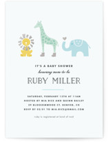 Safari Soiree Baby Shower Postcards