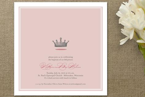 Our Little Princess Baptism & Christening Announcements
