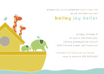 Noah Baptism and Christening Invitations