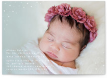 twinkling gradient Baptism & Christening Announcements