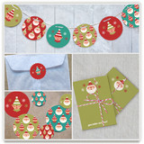 Happy Santa Party Decor