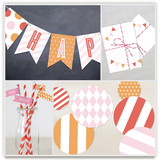 Pink Big Top Circus Party Decor