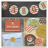 argh! pirates! Party Decor