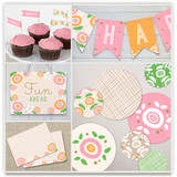 Sweet Clementine Party Decor
