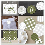 Baby Icons Party Decor