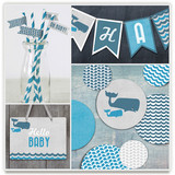 Big Whale Little Whale Party Decor