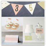 Arrowhead Pastels Party Decor