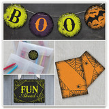 Spirited Halloween Party Decor