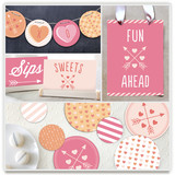 Conversation Heart Valentine Party Decor