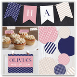 Preppy Party Decor