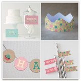 Girlie Cakes Party Decor