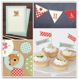 Fancy Fawn Party Decor