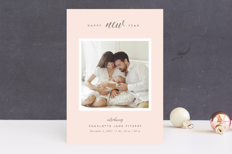 New Introductions Holiday Birth Announcements