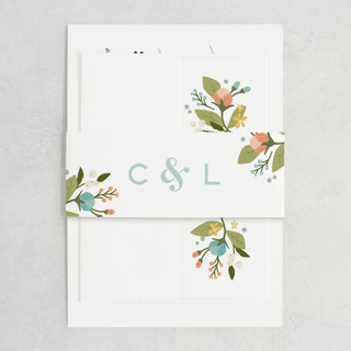 Floral Ampersand Belly Bands