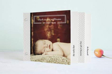 My First Year Birth Announcement Minibook™ Cards