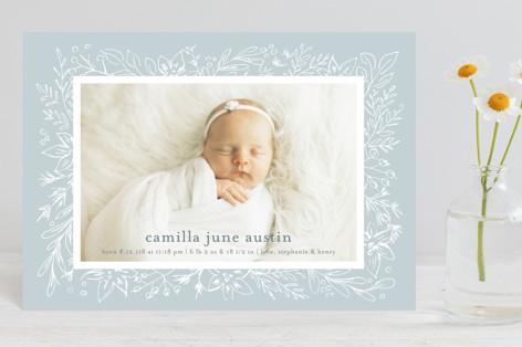 Camilla Birth Announcement Petite Cards