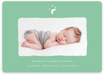 Little Moon Birth Announcement Petite Cards