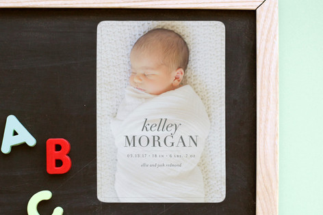 graced Birth Announcement Magnets