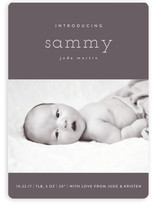 Bebe Chic Birth Announcement Magnets