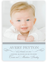 Sweet Sophistication Birth Announcement Magnets