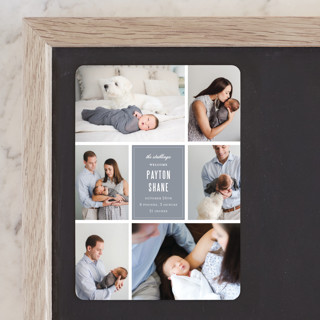 Distinguished Birth Announcement Magnets