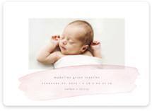 Soft Stroke Birth Announcement Magnets
