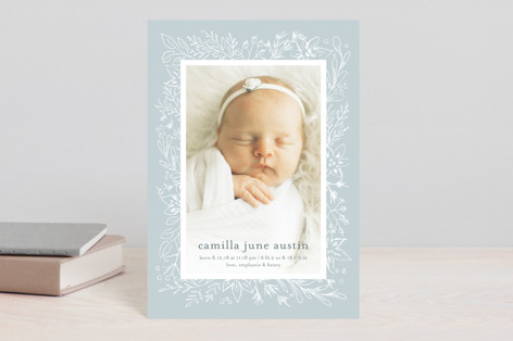Camilla Birth Announcement Postcards