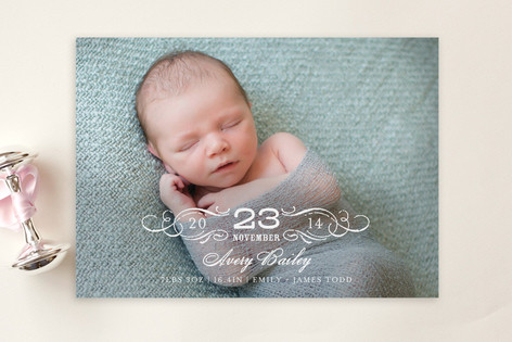 Vintage Baby Birth Announcement Postcards