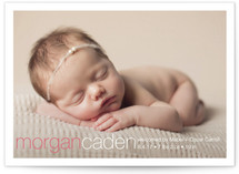 Taylor Birth Announcement Postcards