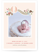 Fairy Tale Beginnings Birth Announcement Postcards