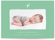 Little Moon Birth Announcement Postcards