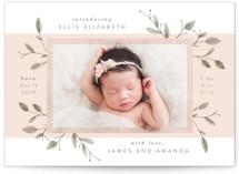 Petite Birth Announcement Postcards